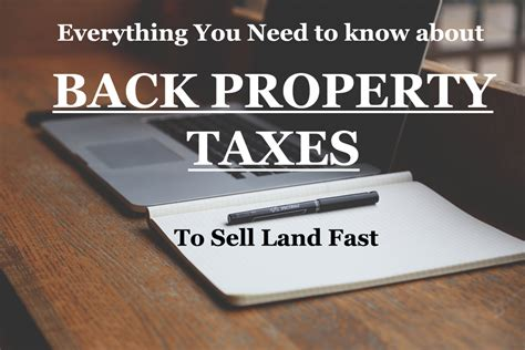 buying a house by paying back taxes everything you need to know about back property taxes