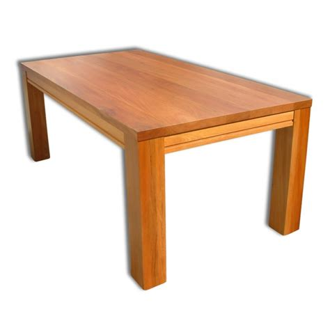 zee 2100mm solid top dining table