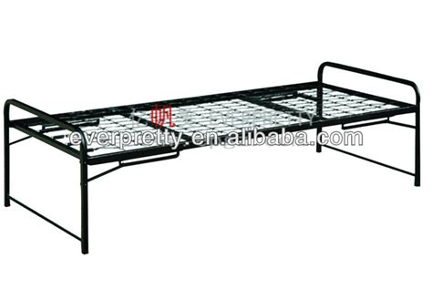 Folding Single Bed Frame Folding Single Black Fabrication Beds Steel Bed Frame Army Beds For Sale View Army Beds For
