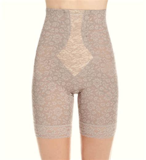 rago high waist long leg pantie girdles rago high waist long leg shaper girdle 6207 sweet pins