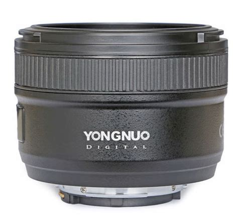 Yongnuo Yn 50mm F1 8 For Nikon yongnuo yn 50mm f1 8 lens for nikon f mount 4 nikon rumors