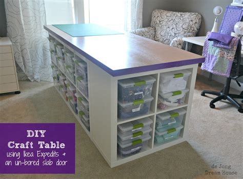 One Day I Will Have A Craft Room On Pinterest Craft Diy Craft Desk With Storage