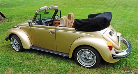 volkswagen buggy convertible 1974 volkswagen super beetle limited edition gold sun bug