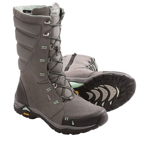ahnu northridge snow boots waterproof insulated for