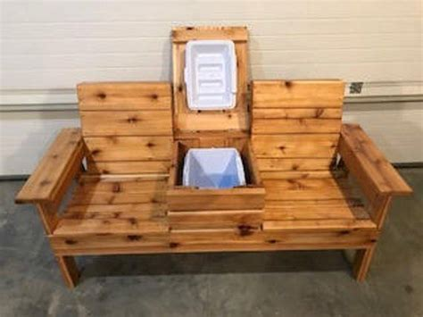 double adirondack chair  cooler local pickup