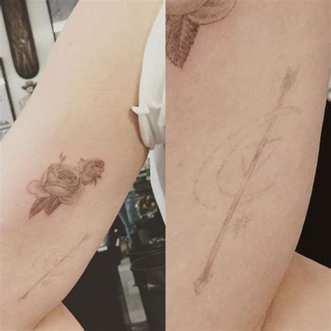 hilary duff tattoo removal pin hilary duffs foot on