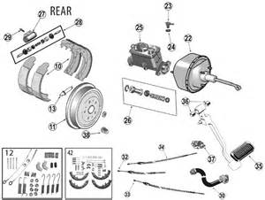 Service Brake System 2008 Jeep Wrangler Yj Rear Brake Parts 87 95 Quadratec