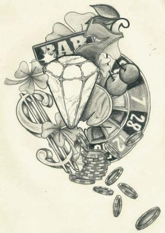 tattoo designs gambling holliiepop