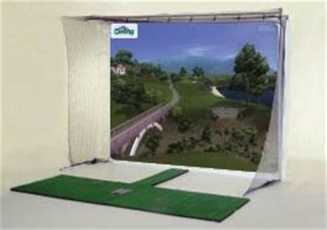 Golf Simulator Ceiling Height by P3pro Swing Pro Xcs Golf Simulator Package At