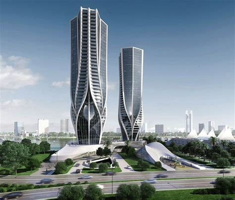 zaha hadid unveils sinuous skyscrapers for australia s