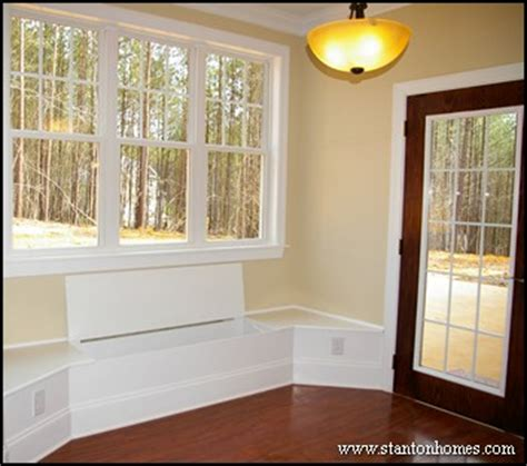built in bench window benches with storage chapel hill custom homes