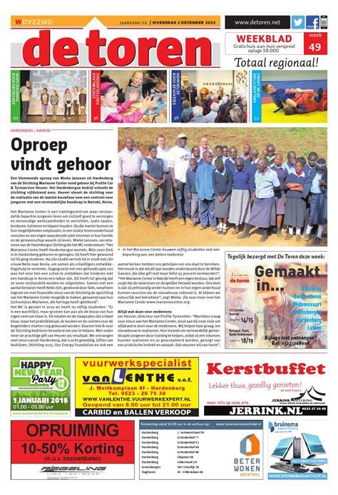 bouwhuis hardenberg de toren week 49 2015 by weekblad de toren issuu