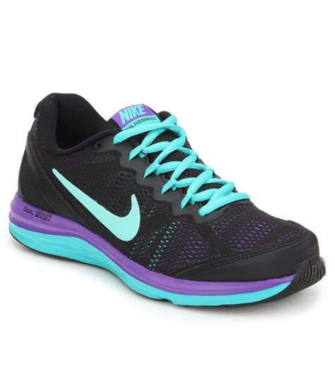nike sports shoes india nike dual fusion run 3 msl black sports shoes price in