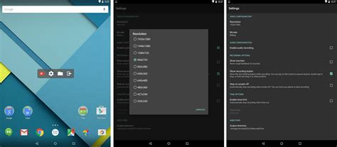 android screen recorder az screen recorder est l application de capture d 233 cran vid 233 o parfaite pour lollipop frandroid
