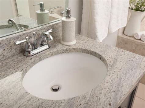 How Much To Install A Bathroom Sink by Undermount Bathroom Sinks Hgtv