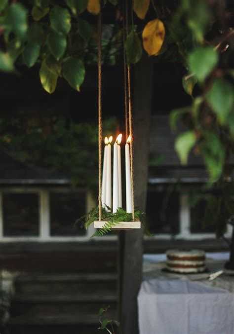 Diy Hanging Chandelier Diy Hanging Candle Chandelier 187 The Merrythought