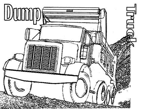 plow truck coloring pages printables coloring pages