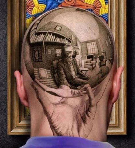escher tattoo realistic tattoos mc escher