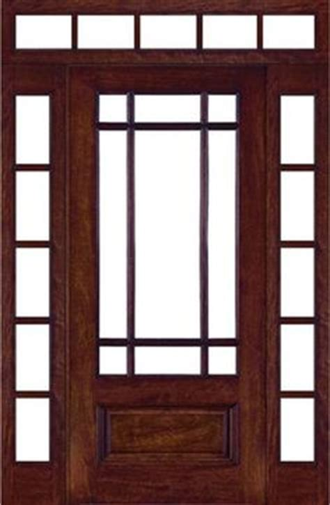 Prairie Style Exterior Doors Craftsman Doors On Pinterest Entry Doors Craftsman And Craftsman Exterior