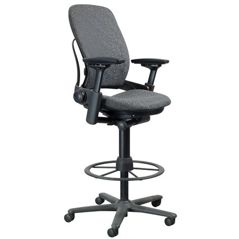Leap Stool steelcase leap used stool gray leaf national office interiors and liquidators