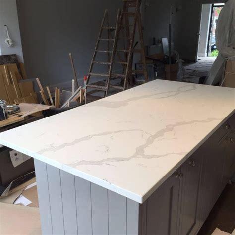 Quartz Kitchen Worktops Review by Calacutta Quartz Rock And Co Granite Ltd