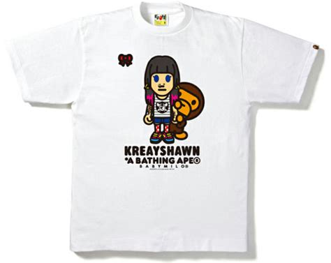 bape x kreayshawn limited edition faux society
