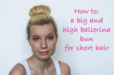 ballerinas with short hair ballerina bun tutorial for short hair hair nails and