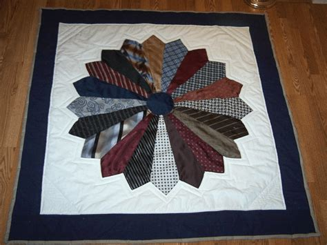 Quilt Made From Ties make a memory quilt from ties quilting digest