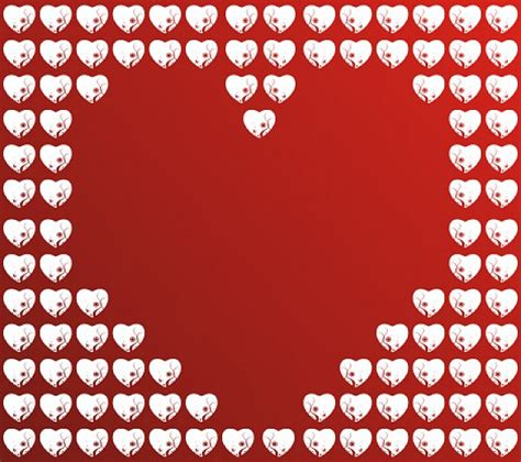 heart pattern free vector heart pattern made of hearts vector free download