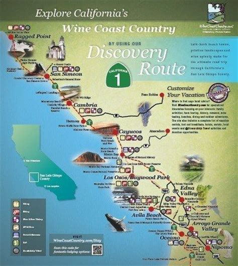 map us highway 1 explore artisan towns and seaside villages along ca s