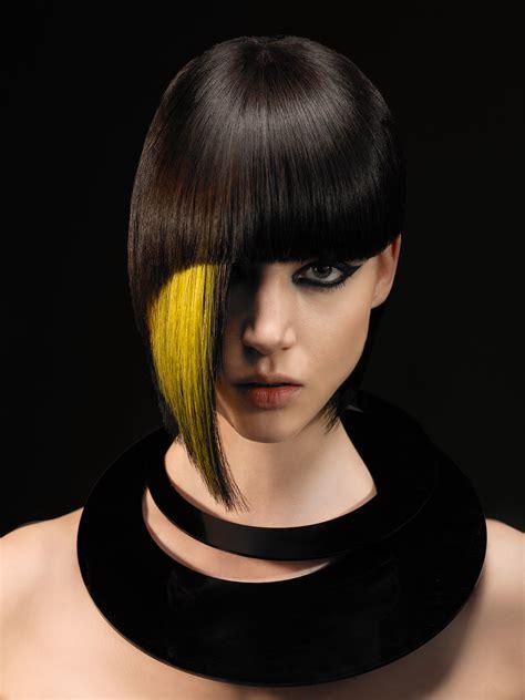 what is geometric hair cutting modern geometry by steve waldman short hair with a