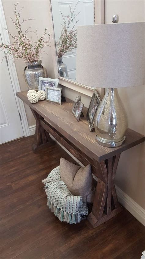 Ideas For Console Table With Baskets Design Enchanting Farmhouse Entryway Decorations For Your Inspiration Hative