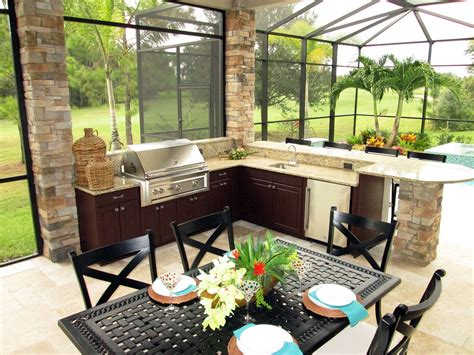 Outdoor Kitchen Furniture Best Outdoor Kitchen Cabinets Ideas For Your Home Theydesign Net Theydesign Net