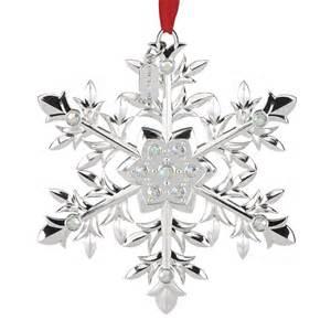 snow majesty snowflake ornament 2016 snowflake