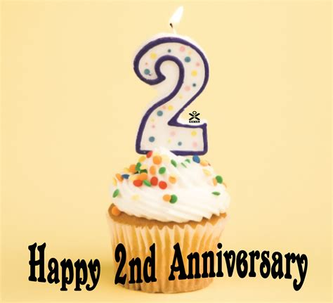 image gallery happy second anniversary