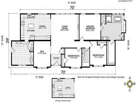 4 bedroom double wide 1000 images about double wide mobile home floor plans on
