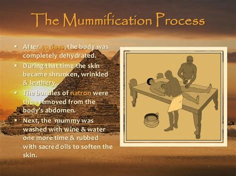 the mummification process architecture of the afterlife embalming tombs in