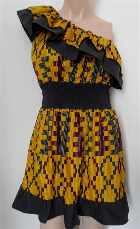 sewing kente styles kente one shoulder sewing projects burdastyle com