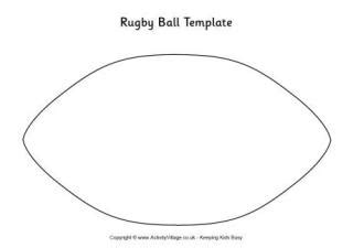 How To Make A Rugby Out Of Paper - rugby printables