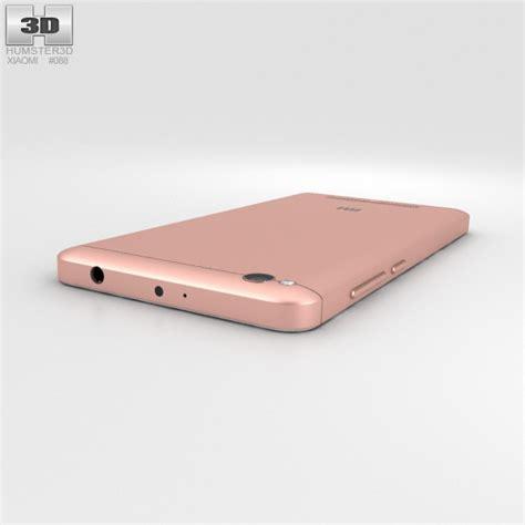 3d Redmi 4a xiaomi redmi 4a gold 3d model hum3d