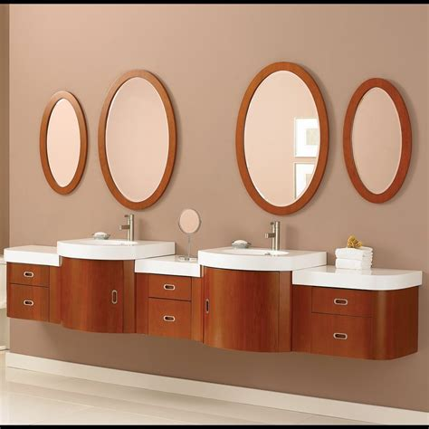 decolav casaya 01 112 quot bathroom vanity set wall hung