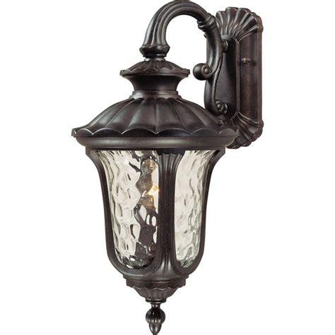 vintage outdoor lighting volume lighting 1 light vintage bronze outdoor wall mount