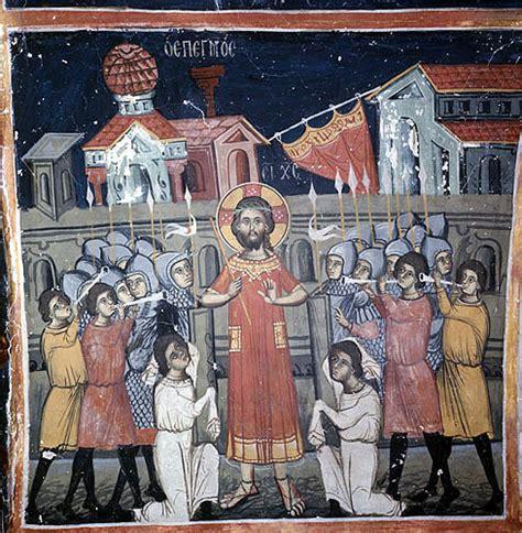 House Wall Murals cyprus kalopanayiotis the church of st heracleidius in