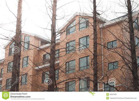 brick apartment condominiums stock photo image 49331062