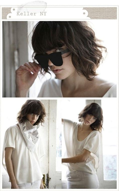 can blunt hair work on curly hair 15 amazing short shaggy hairstyles popular haircuts