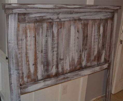 rustic headboards for sale rustic white wash queen headboard special sale by shopldtc