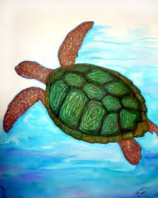 turtles painting turtle painting his way by foux on deviantart
