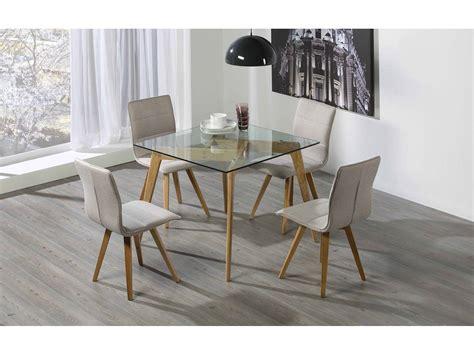 conjunto comedor mesa  sillas modelo janis