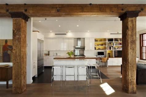 Country Kitchen Design Ideas loftwohnung verbidnet mehrere epochen in seinem design