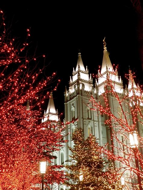 deanna time christmas lights at temple square
